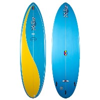 "MACCOY ALL ROUND NUGGET 6'8"" BLUE/YELLOW XF 3F マッコイ エポキシ サーフボード  サーフィン サーフボード 小波用THE SURFBOARD..."