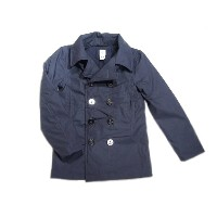 【半額!期間限定50%OFF!】POST OVERALLS(ポストオーバーオールズ)/#2113R P-POST-R PC POPLIN P-COAT/navy