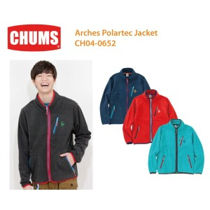 CHUMS チャムス CH04-0652  Arches Polartec Jacket-アーチポーラテックジャケット ※取り寄せ品