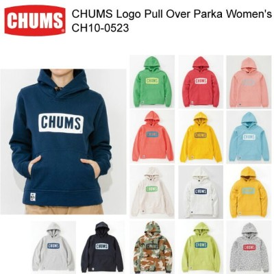 CHUMS チャムス CH10-0523 CHUMS Logo Pull Over Parka Women's チャムスロゴプルオーバーパーカー女性用  ※取り寄せ品