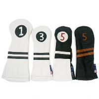 Stitch Golf Individual Leather Headcovers【ゴルフ アクセサリー>ヘッドカバー】
