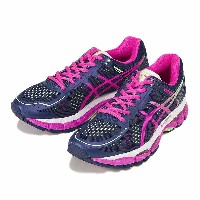 【ASICS】 アシックス LADY GEL-KAYANO 22 TJG736 4935 INDIGO/PK
