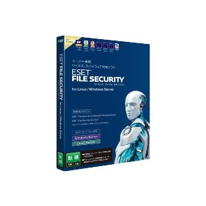 【送料無料】キヤノンITソリューションズ ESET File Security for Linux / Windows Server 新規【Win/Linux版】(D/L) ESETFILESECUR...