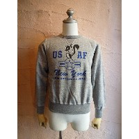 ★BUZZ RICKSON'Sバズリクソン★LOCKHEED MARTIN TEEスカンクワークス THE SKUNK WORKS『SET-IN CREW SWEAT NEW YORK AIR...