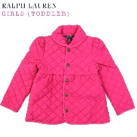 """(2-6X) POLO by Ralph Lauren """"GIRL (2-6X)"""" Quilted Jacket USラルフローレン 子供用のキルティングジャケット (UPS)"""