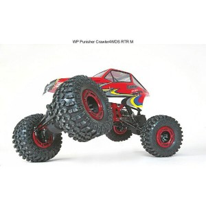 Graupner パニッシャー・クローラーRTR(WP PUNISHER CRAWLER 4WDS RTR, scale 1:10) 90140.RTR