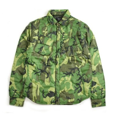 HUF/ハフ QUILTED BDU SHIRTS JACKET【シャツジャケット】【送料無料】