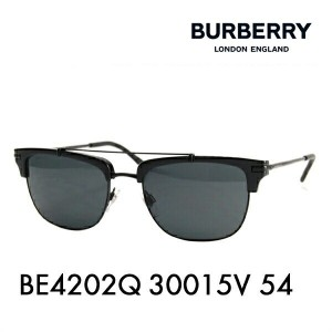 【OUTLET★SALE】アウトレット セール バーバリー サングラス BE4202Q 30015V 54 BURBERRY サーモント