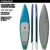 "SUP インフレータブル SUP 11'6""x30"" ツーリング デラックス STARBOARD INFLATABLE SUP TOURING DELUXE 11'6""x30"" 2016 パドル..."