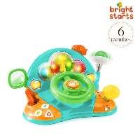 ブライトスターツ スピン&ギグル・パピー bright starts Lights&Colors Driver 52178 bright starts spin&giggle puppy