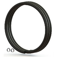 【M便】シリカ REPLACEMENT HOSE with CLAMPS