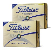 Titleist NXT Tour S Golf Balls【ゴルフ ボール】