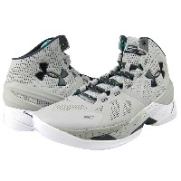 "Under Armour Curry 2 ""RAINMAKER GRAY-STORM""メンズ Aluminum/White/Stealth Grey アンダーアーマー Stephen Curry..."