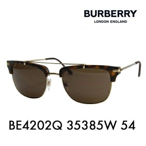【OUTLET★SALE】アウトレット セール バーバリー サングラス BE4202Q 35385W 54 BURBERRY