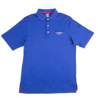 Vokey Design FJ Stretch Pique Ribbon Placket Athletic Fit Polo【ゴルフ ゴルフウェア>ポロ/長袖シャツ】
