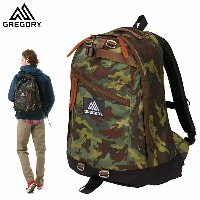 GREGORY(グレゴリー) DAY PACK DEEP FOREST CAMO デイパック ディープフォレストカモ /658744631 (N)【DAY-P】 (G20)