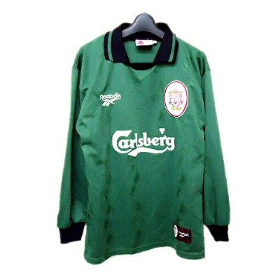 Reebok 「MADE IN UK」 LIVERPOOL FC Game shirt (リーボック リバプールFCゲームシャツ) Tシャツ vintage ヴィンテージ 055486 【中古】