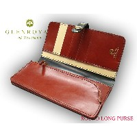グレンロイヤル / GLENROYAL ■ROUND LONG PURSE 03-6178 ●028 ( NEW BLACK×OXFORD TAN×NATURAL ) [ 完全限定入荷商品 ]...