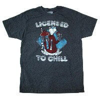 ◎【ICEE/アイシー】 Tシャツ 『LICENCED TO CHILL(GY)』 海外企業・アメリカン雑貨・フローズン・アイス・アメリカ・コンビニ