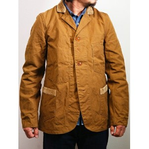 【送料無料】FREEWHEELERS(フリーホイーラーズ)~CONDUCTOR JACKET RED BEIGE~