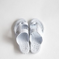 GLOCAL STANDARD PRODUCTS / G.S.P SANDALS KIDS(WH) 2(18cm)【グローカルスタンダードプロダクツ/ホワイト/サンダル/ギョサン/PEARL...