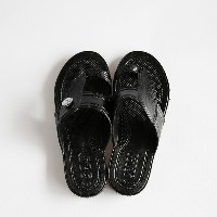 GLOCAL STANDARD PRODUCTS / G.S.P SANDALS KIDS(BK) 5(21cm)【グローカルスタンダードプロダクツ/ブラック/サンダル/ギョサン/PEARL...