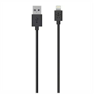 ベルキン iPad/mini/iPhone/iPod対応Lightning-USBケーブル(1.2m) F8J023bt04‐BLK