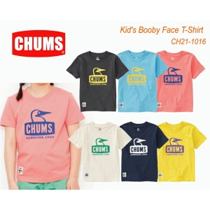 CHUMS チャムス CH21-1016 Kid's Booby Face T-Shirt キッズブービーフェイスTシャツ  ※取り寄せ品