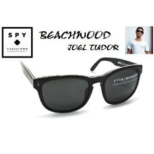 ★SPY★スパイ★CROSSTOWN★BEACHWOODXJOEL TUDOR★3-PLY BLACK-GREY★サングラス
