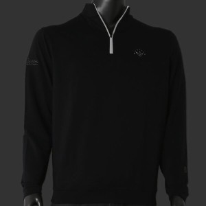 ピーターミラースコッティーキャメロン プルオーバー Scotty Cameron Peter Millar Pullover「Perth Stretch Terry Qtr. Zip - 7...