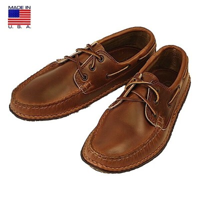 QUODDY クオディ 606026 Boat Moccasin ボートモカシン Horween Cavalier Whisky ホーウィン キャバリエ ウイスキー アメリカ製