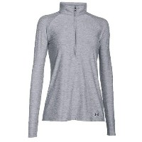 アンダーアーマー レディース ゴルフ ウェア パーカー【Under Armour Zinger Golf 1/4 Zip】True Grey Heather/Stealth Grey