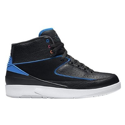 Jordan Retro 2 メンズ Black/Photo Blue/White/Atomic Orange/Fire Pink ジョーダン レトロ バッシュ