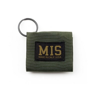 ■MIS(エムアイエス)■ Duty Key Silencer - OLIVE■MADE IN CALIFORNIA■クリックポスト対応商品(送料 164円)
