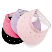 High Spirits Ladies Clip-on Swarovski Rhinestone Visor【ゴルフ レディース>サンバイザー】