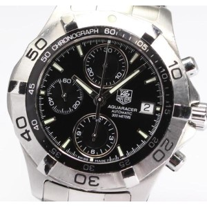 【TAG HEUER】タグホイヤー アクアレーサー クロノ CAF2110 AT◎【中古】