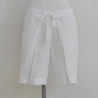 JAMES PERSE(ジェームス パース) / Pull On Linen Trouser Short(2色展開)
