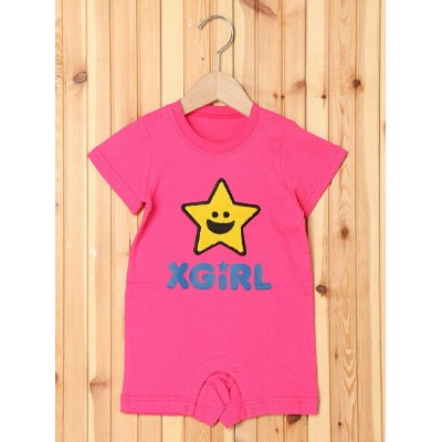 【SALE/35%OFF】X-girl Stages S/S TEE ALL KIRAKY エックスガールステージス マタニティー/ベビー【RBA_S】【RBA_E】【送料無料】