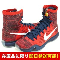 KOBE コービー・ブライアント KOBE X ELITE ナイキ Nike University Red Obsidian Bright Crimson White