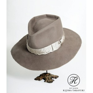 【SALE/セール】KIJIMA TAKAYUKI (キジマ タカユキ COEUR クール) / Beaver Felt Hat - ARKnets exclusive model - [Khaki...
