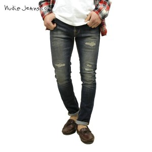【15%OFFセール 12/16 20:00~12/21 1:59】 ヌーディージーンズ Nudie Jeans 正規販売店 メンズ ジーンズ Brute Knut Blue Reed 565...