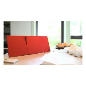 IN2UIT FILO Vogue RED【Bluetoothフラットスピーカー】【ワイヤレス ブルートゥース デザイン おしゃれ】【送料無料】
