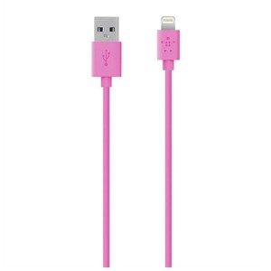 BELKIN iPad / iPad mini / iPhone / iPod対応 Lightning ⇔ USBケーブル 充電・転送 (1.2m・ピンク) MFi認証 F8J023bt04-PNK...