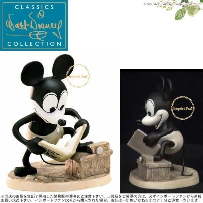 WDCC ミッキー どうやったら飛べるかな プレーン・クレイジー 飛行機 How To Fly Mickey Mouse Plane Crazy 1028734 【ポイント最大42倍...