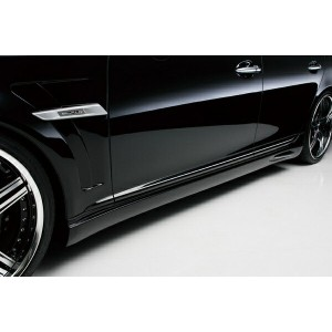 LEXUS LS460 USF40/41 M/C after Executive Line (H21.10~H24.10) (ABS製) SIDE STEP(Short) (ABS製 塗装済)