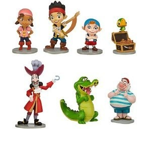 Disney (ディズニー) Jake and the Neverland Pirates Figurine Playset ~ 7 pieces