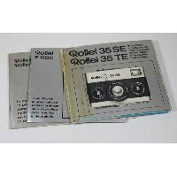 ドイツ製 ROLLEI 35 SE/TE, E19BC, E20/E20C マニュアルManuals for 35 SE/TE, E19BC, E20/E20C