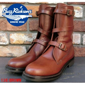 """No.BR01248 BUZZ RICKSON'S バズリクソンズWILLIAM GIBSON COLLECTION""""TANK STRAP BOOTS"""""""