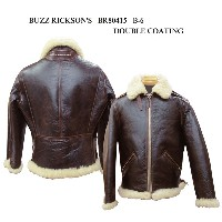 """BUZZ RICKSON'S バズリクソンズ B-6 """"BUZZ RICKSON CLO. CO. """"DOUBLE COATING 2015年生産 BR80415-15AW 「NC」"""