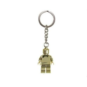 【新品】ミニフィグLEGOレゴ850807Golden Minifigure Keychain KeyChain ゴールドキーチェーン キーホルダー おもちゃ【送料無料】【代金引換の場合は+900円...